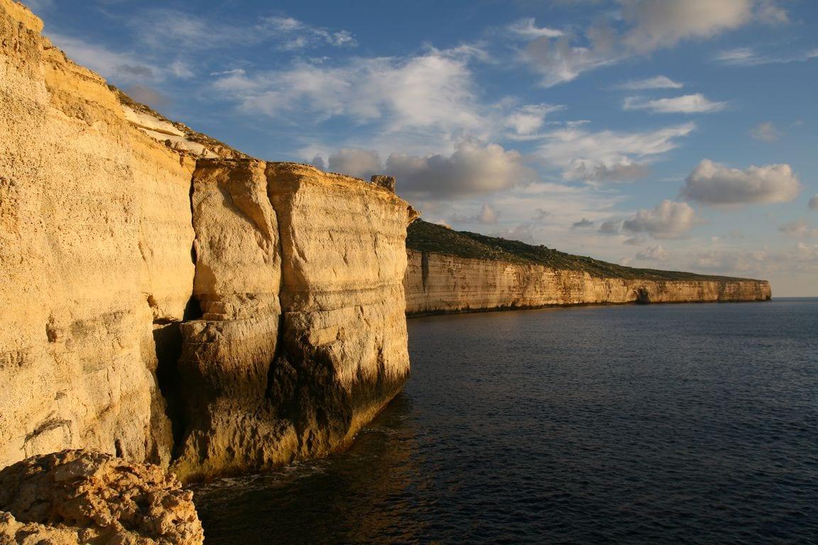 maltańskie klify
