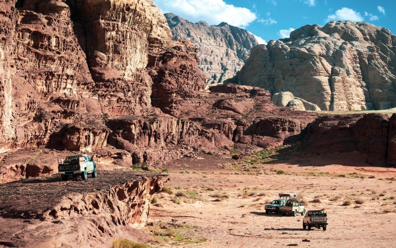 Wadi Rum wycieczka jeepem