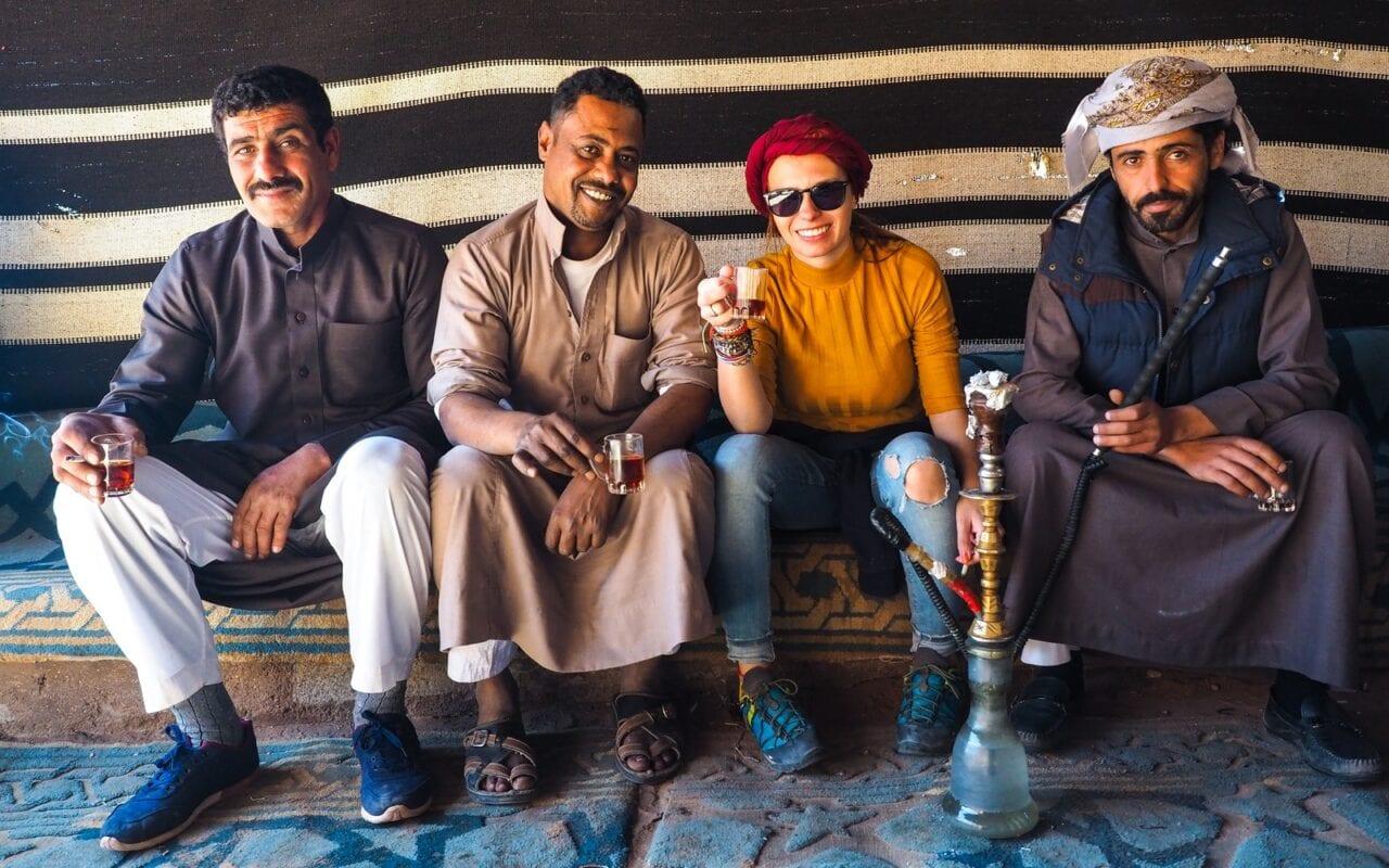 Beduini na Wadi Rum