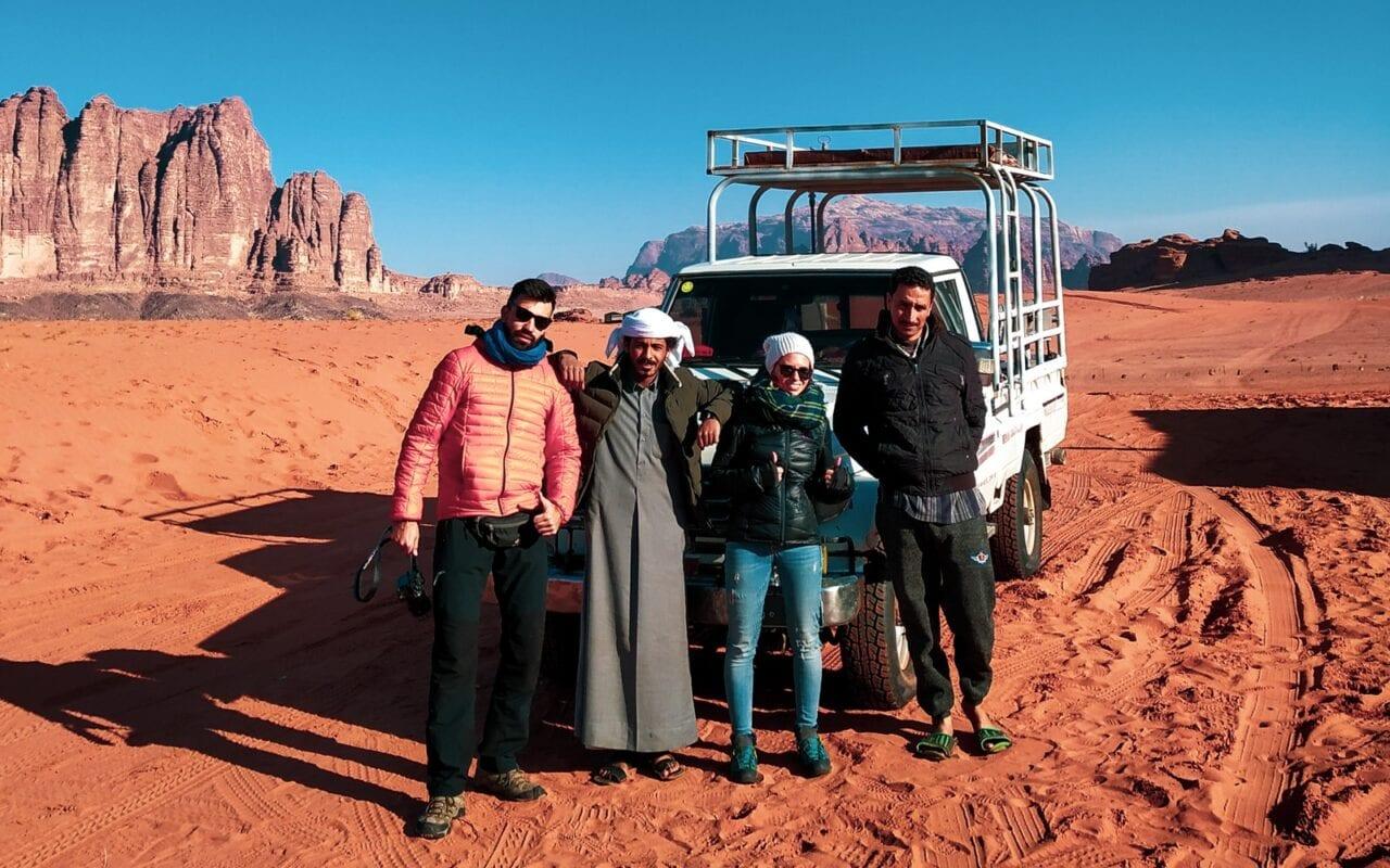 Wycieczka jeepem dookoła Wadi Rum