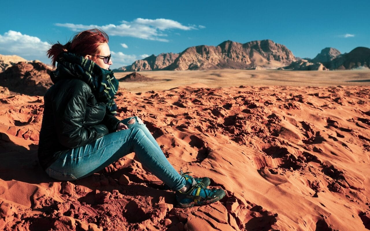 jak ubrać się na Wadi Rum