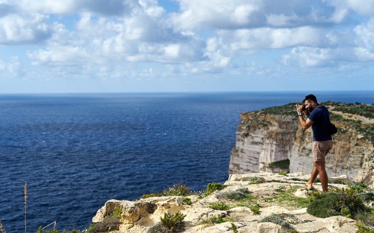 sanap klify na Gozo