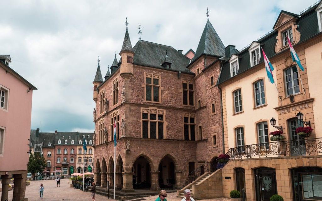Luksemburg Echternach zabytki
