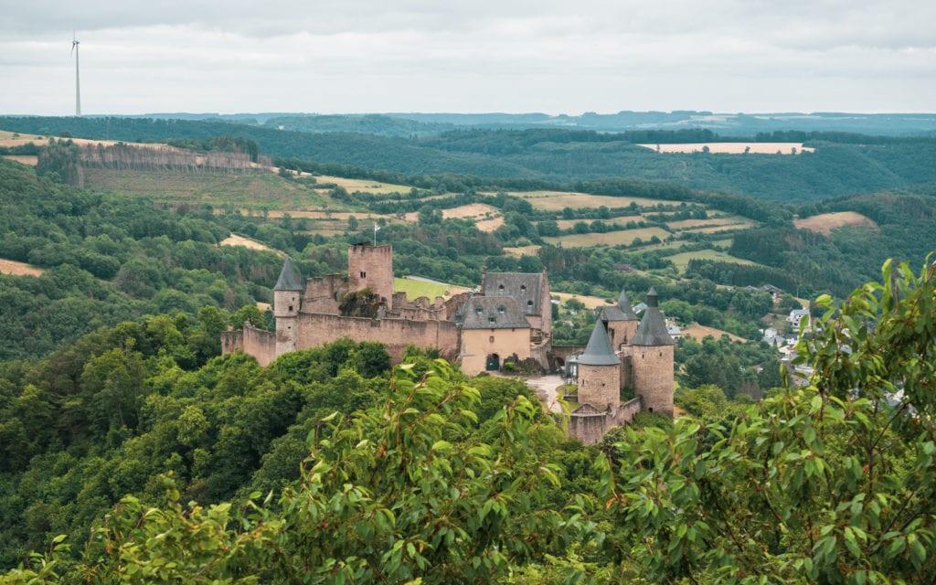 Luksemburg piekny zamek Boursheid