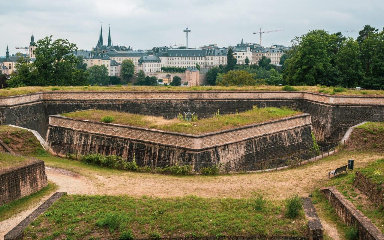 miasto Luksemburg fort