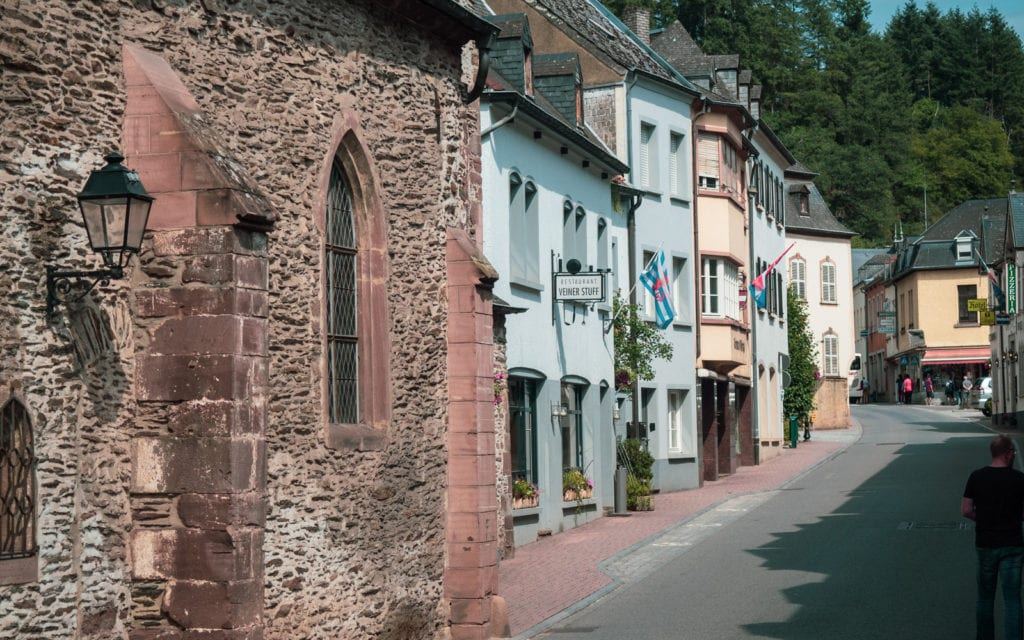 Luksemburg widok na uliczki