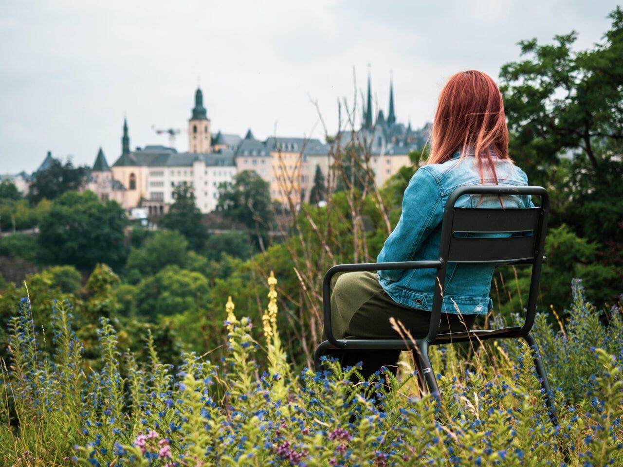 stolica Luksemburga widok