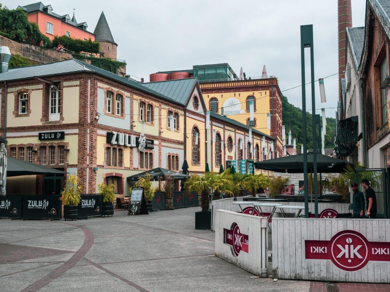miasto Luksemburg dzielnica browarnicza