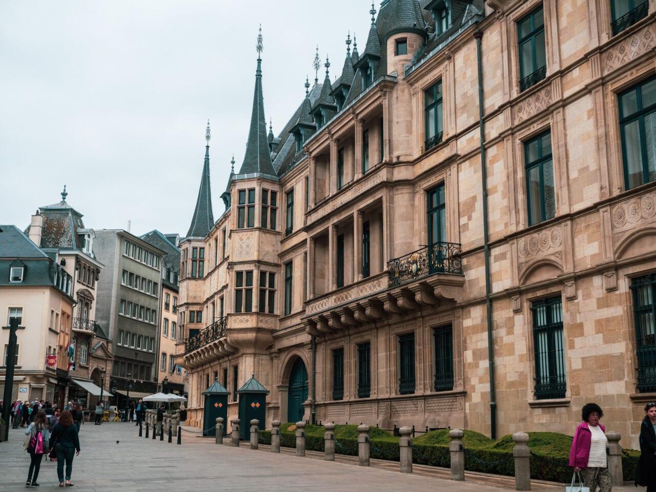 Luksemburg palac wielkiego ksiecia