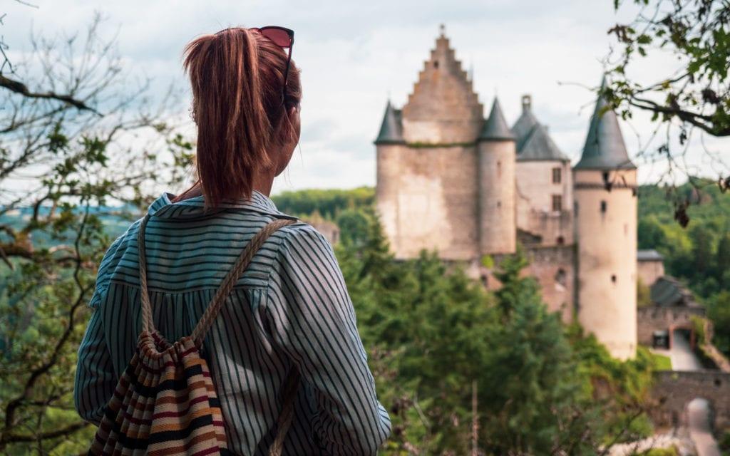 Luksemburg zamek w Vianden