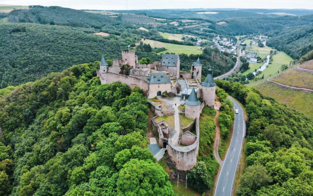 zamek w Bourscheid