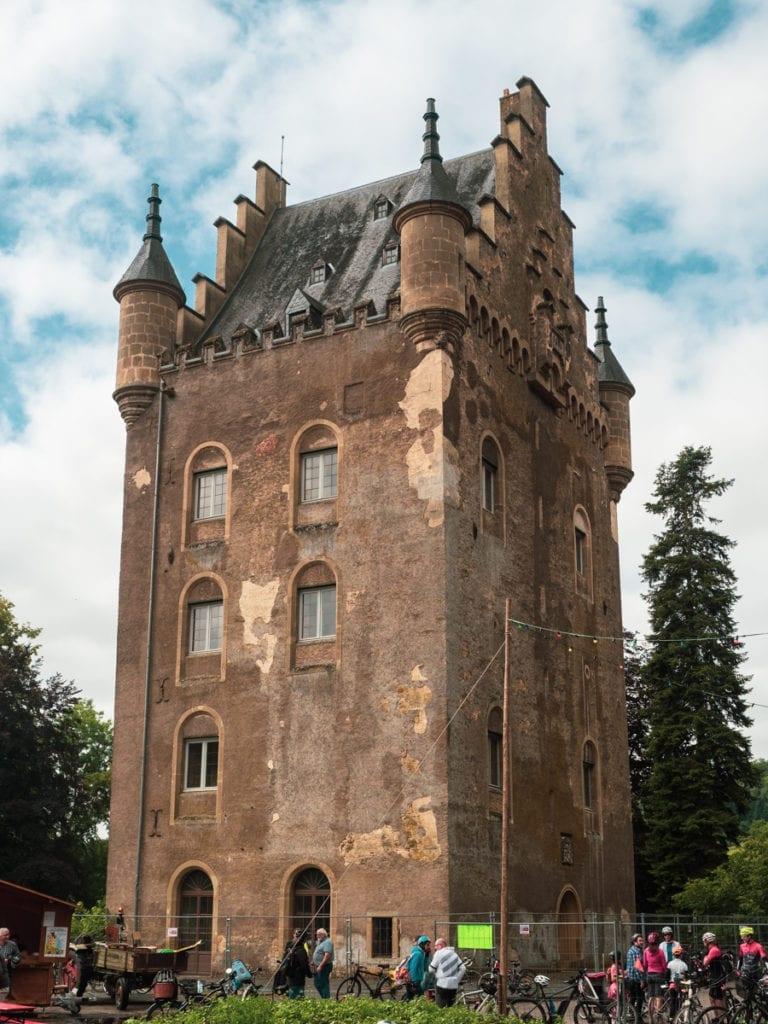 zamek w Shoenfels - Dolina 7 zamków