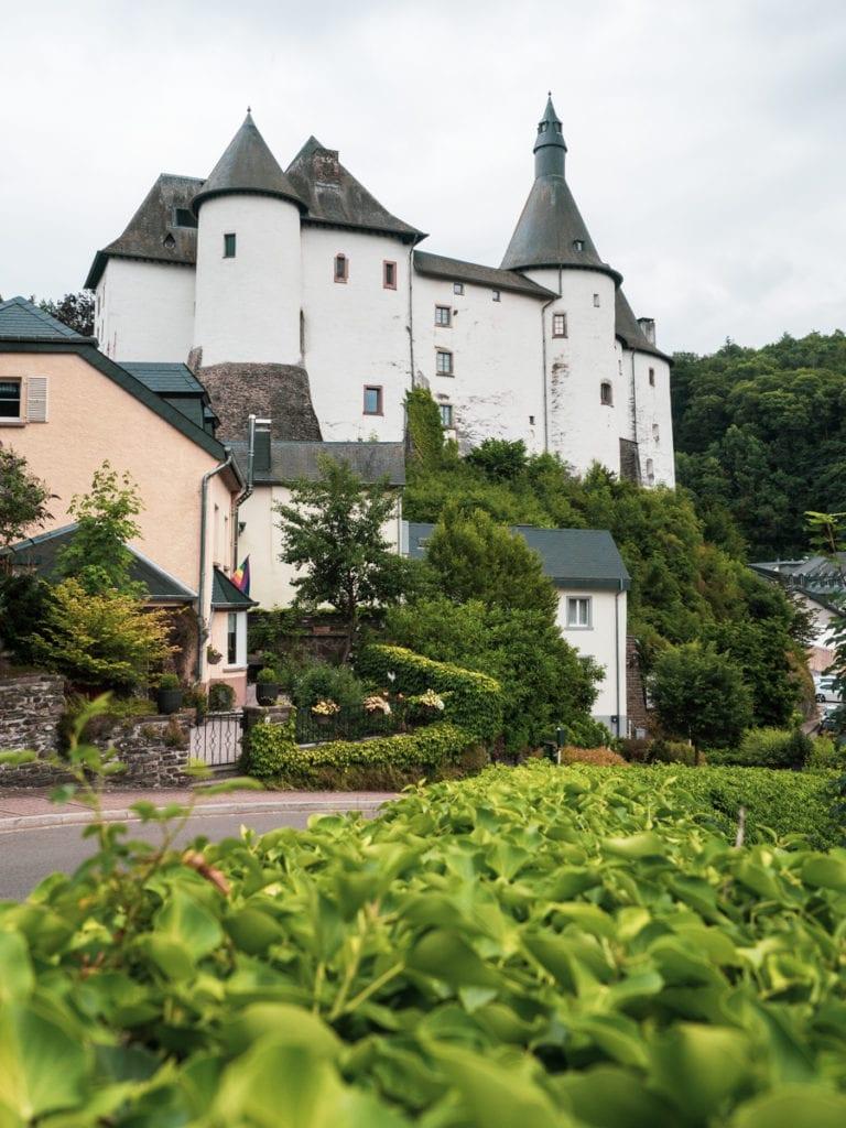 zamek w clervaux