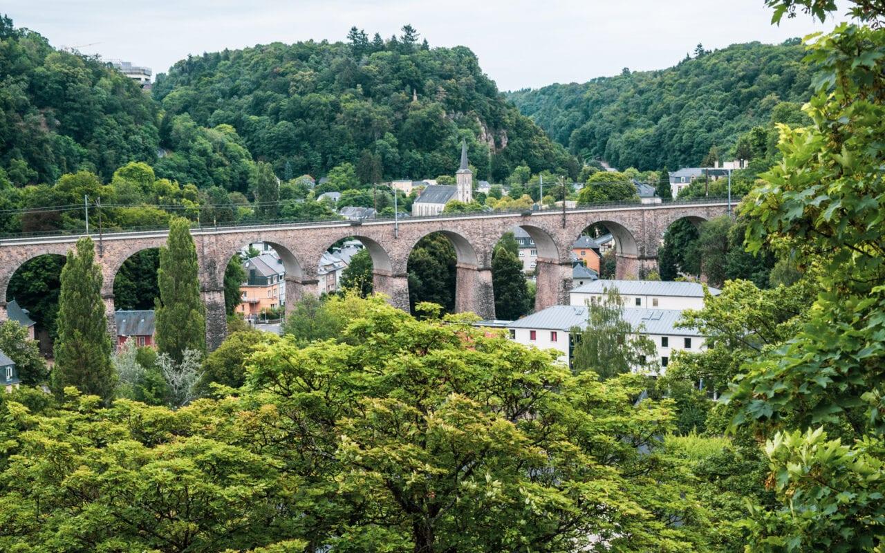 Luksemburg miasto zieleni
