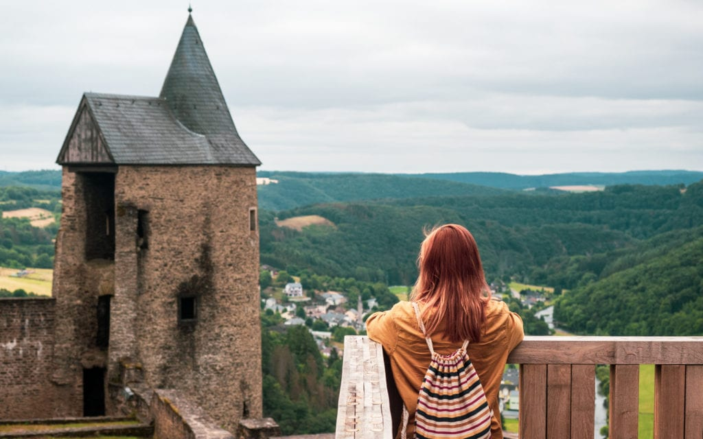 Luksemburg - zamek Bourscheid