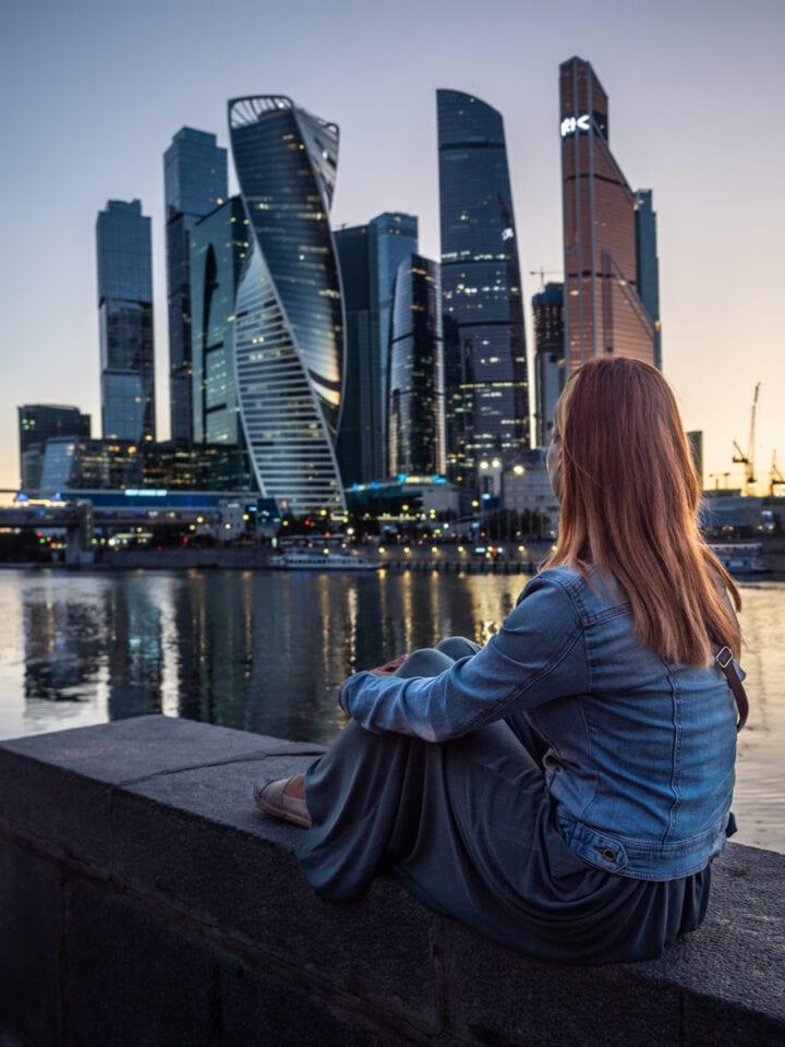 dzielnica biznesowa w moskwie