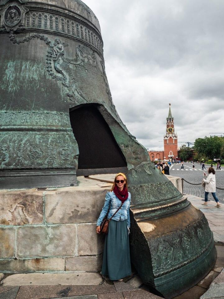 kreml najwiekszy na świecie dzwon