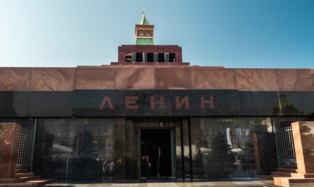 moskwa Mauzoleum Lenina