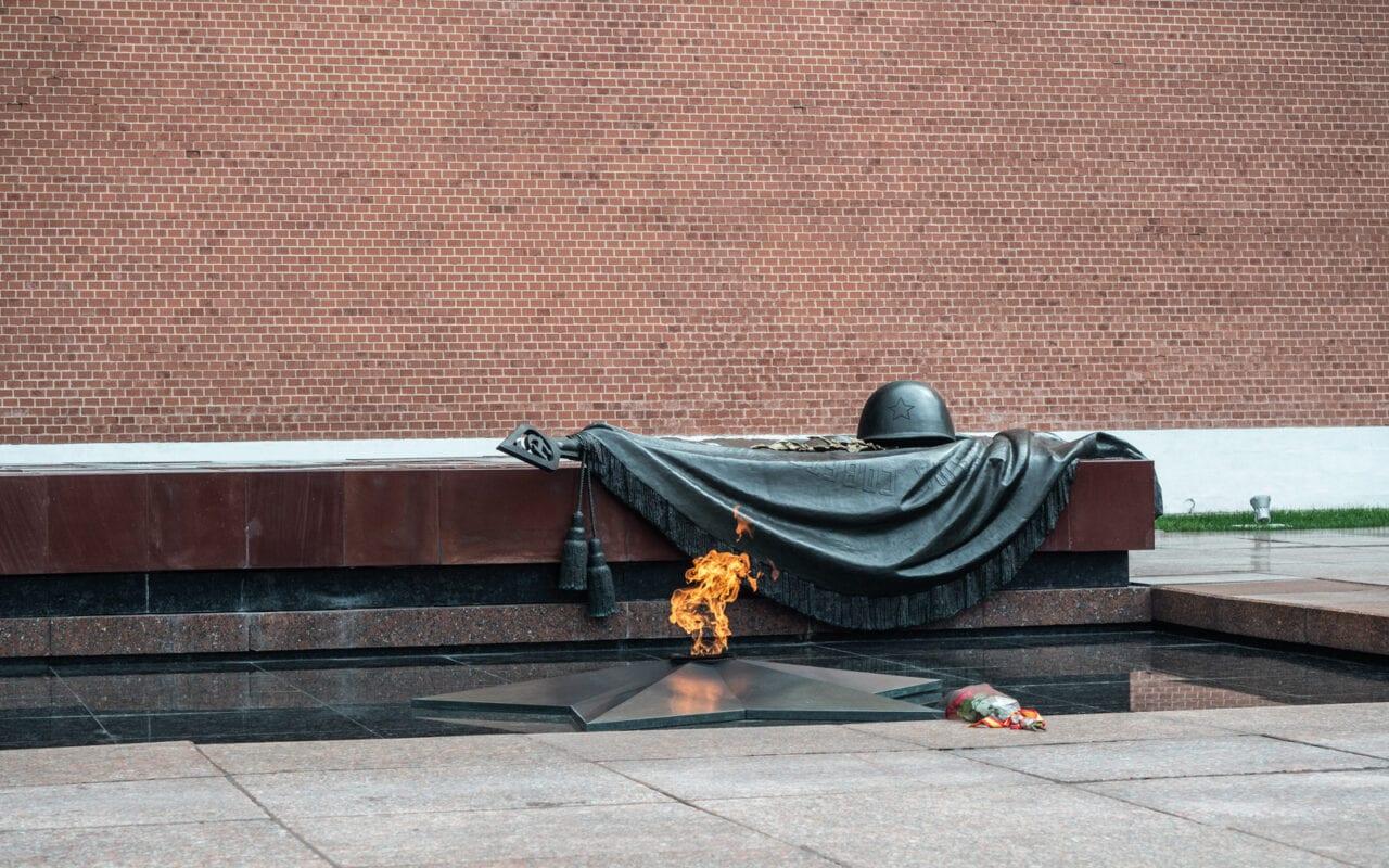 Moskwa grób nieznanego żołnierza