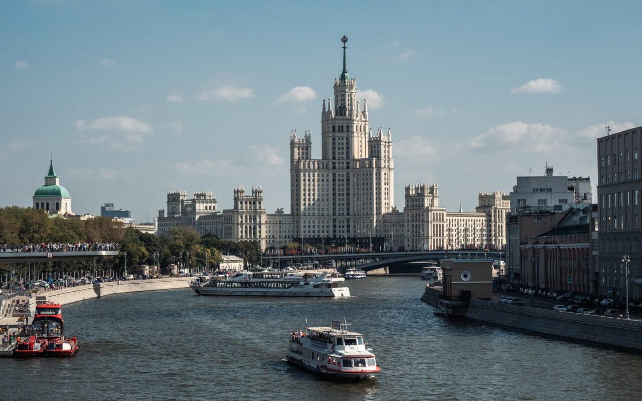 Moskwa rejs po rzece