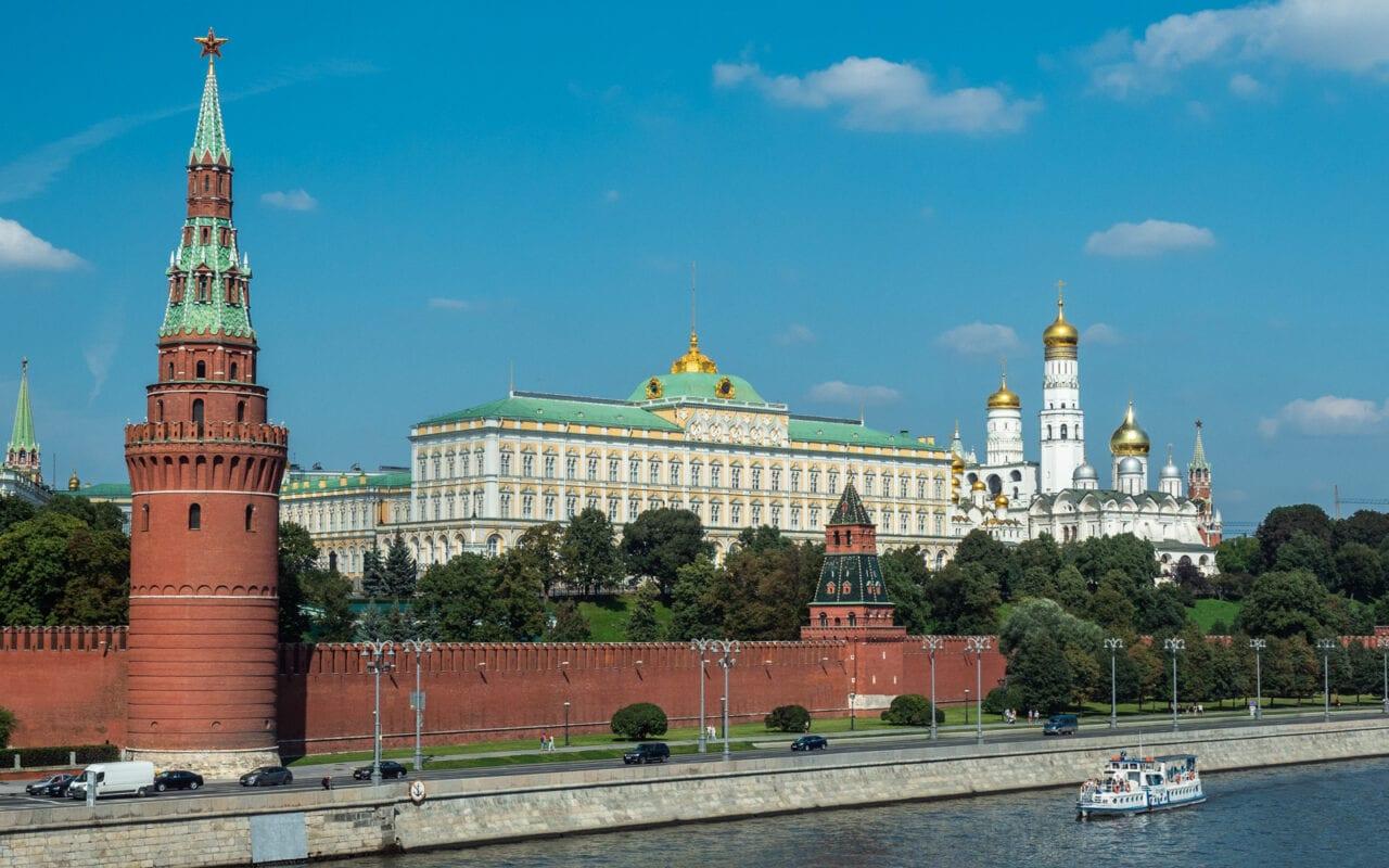 kreml widok z mostu
