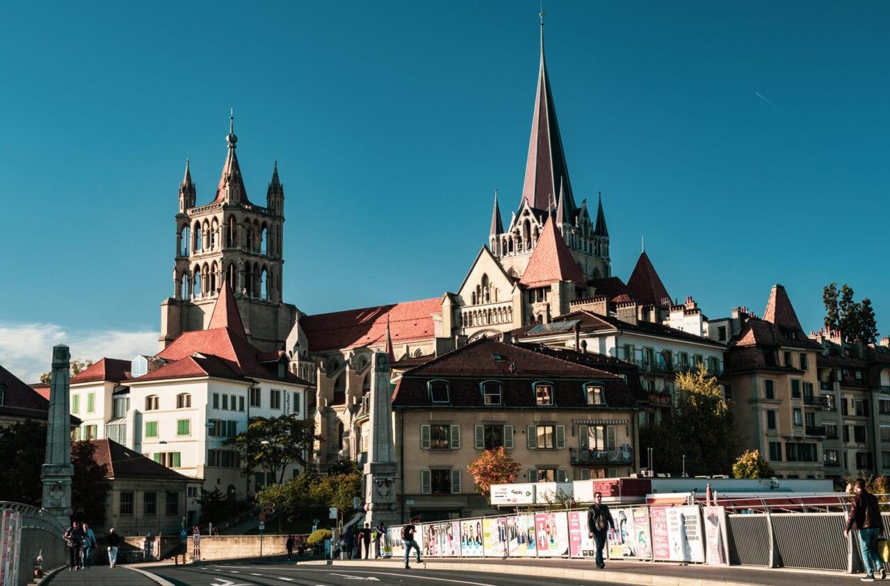 atrakcje-szwajcarii-katedra-lozanna