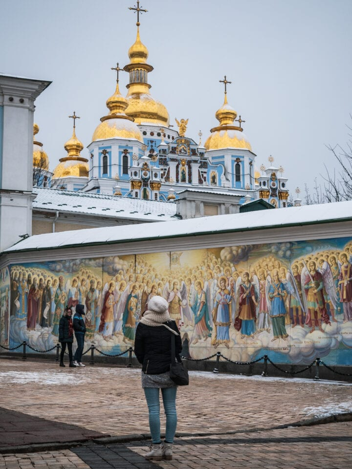 kijow-co-zobaczyc-cerkiew-michala-archaniola