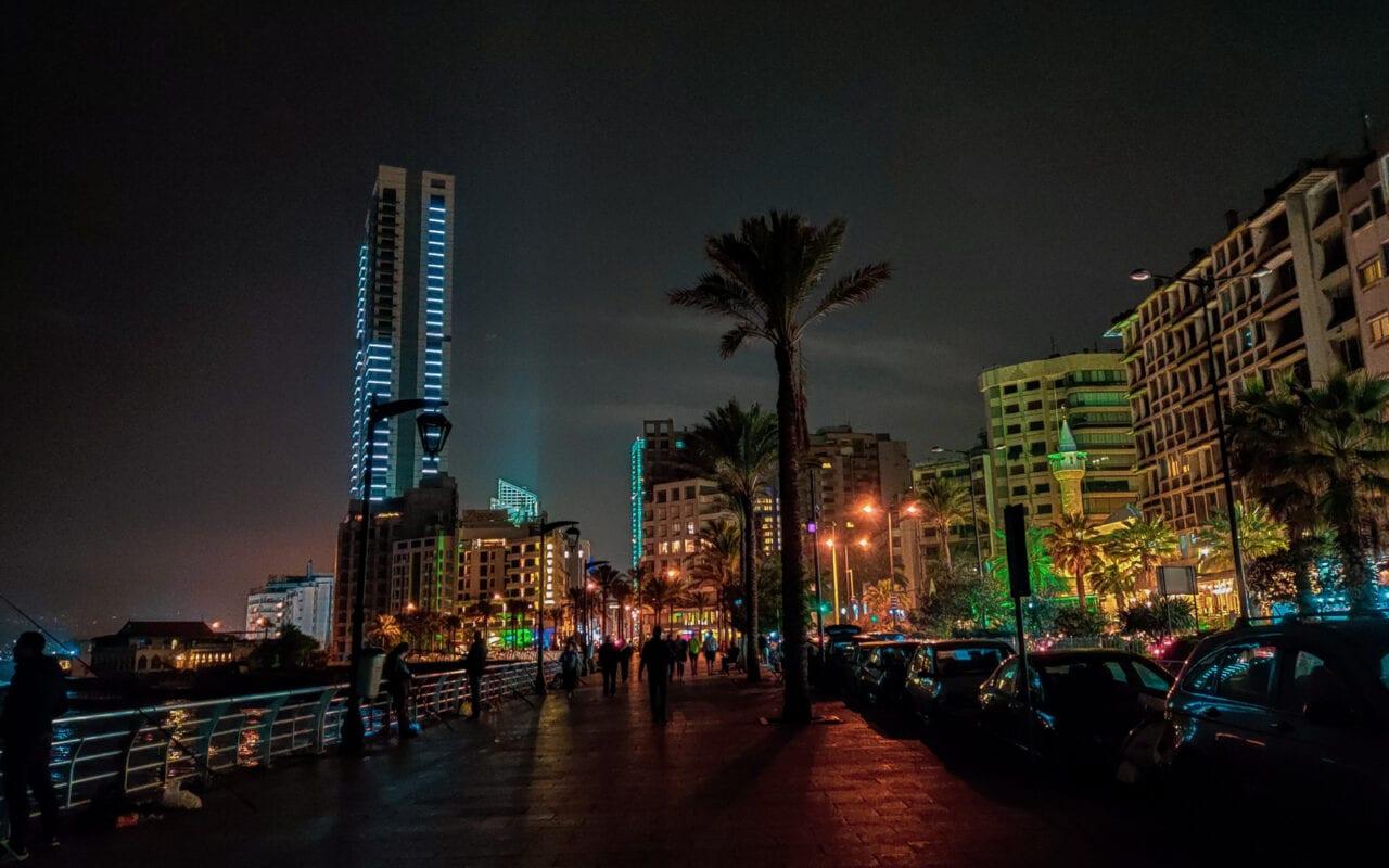 zwiedzanie-bejrutu-corniche-bejrut