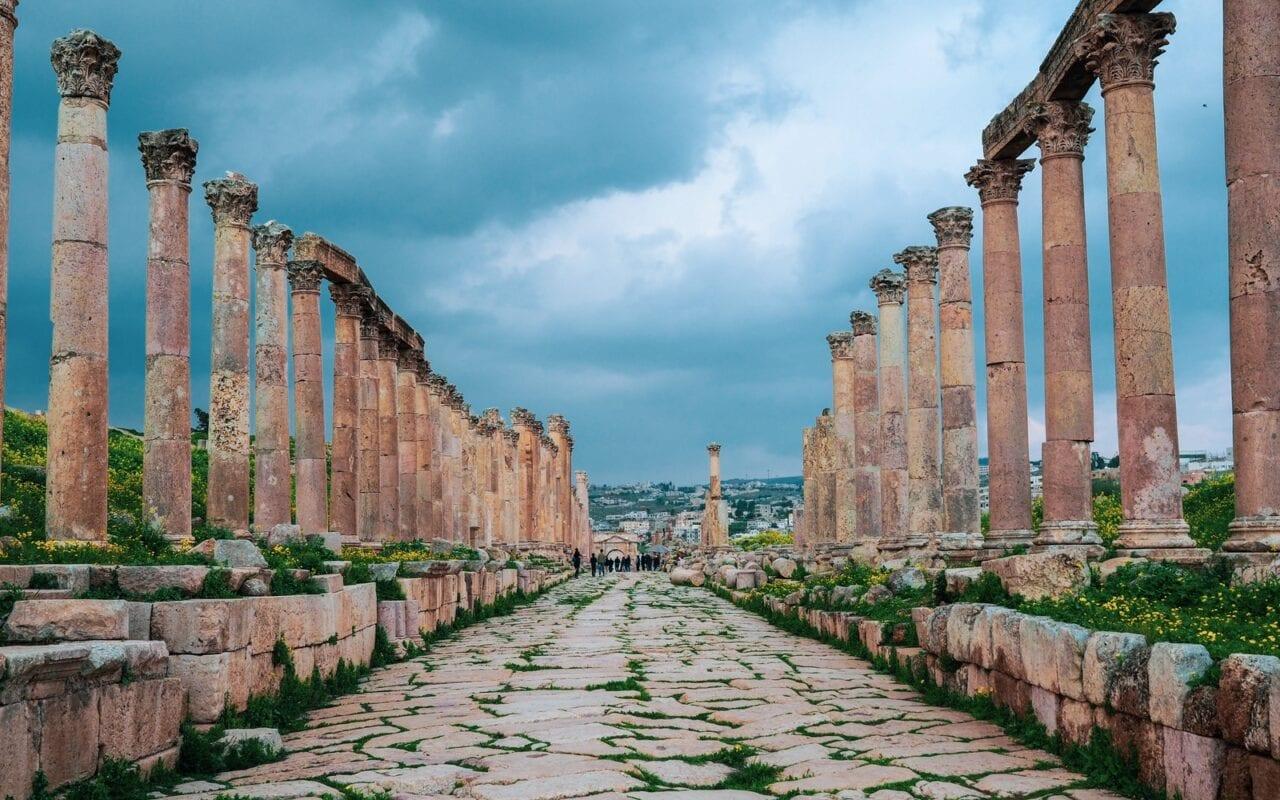 zwiedzanie-jordanii-jerash