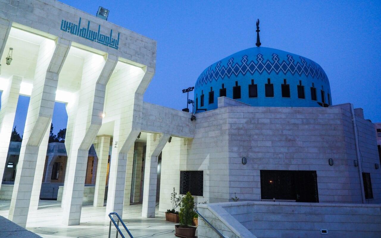 amman-blekitny-meczet-zwiedzanie-ammanu