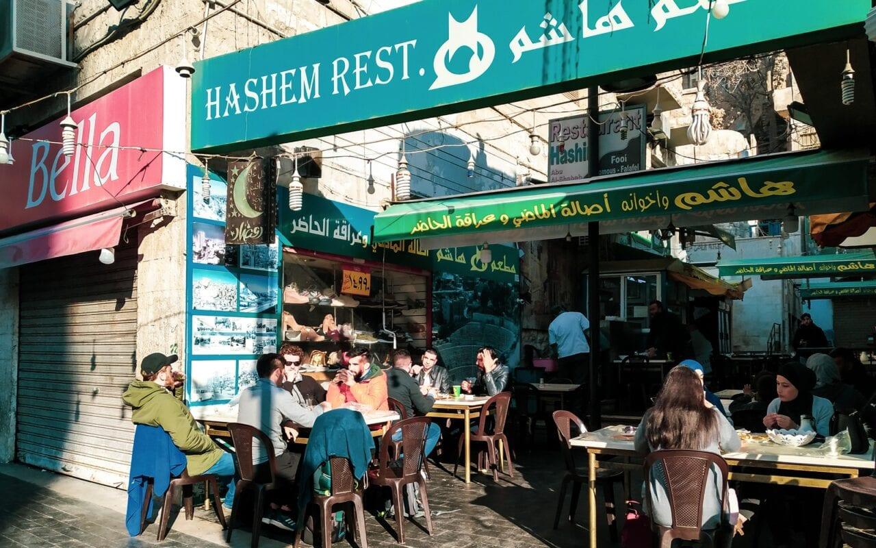 zwiedzanie-ammanu-amman-restauracja-hashem