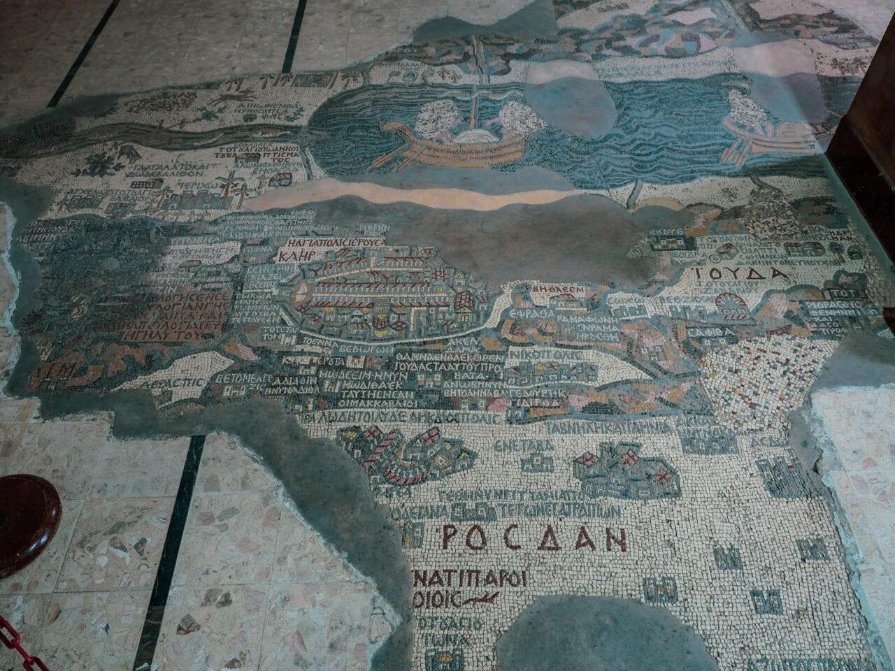 zwiedzanie-jordanii-mozaiki-madaba