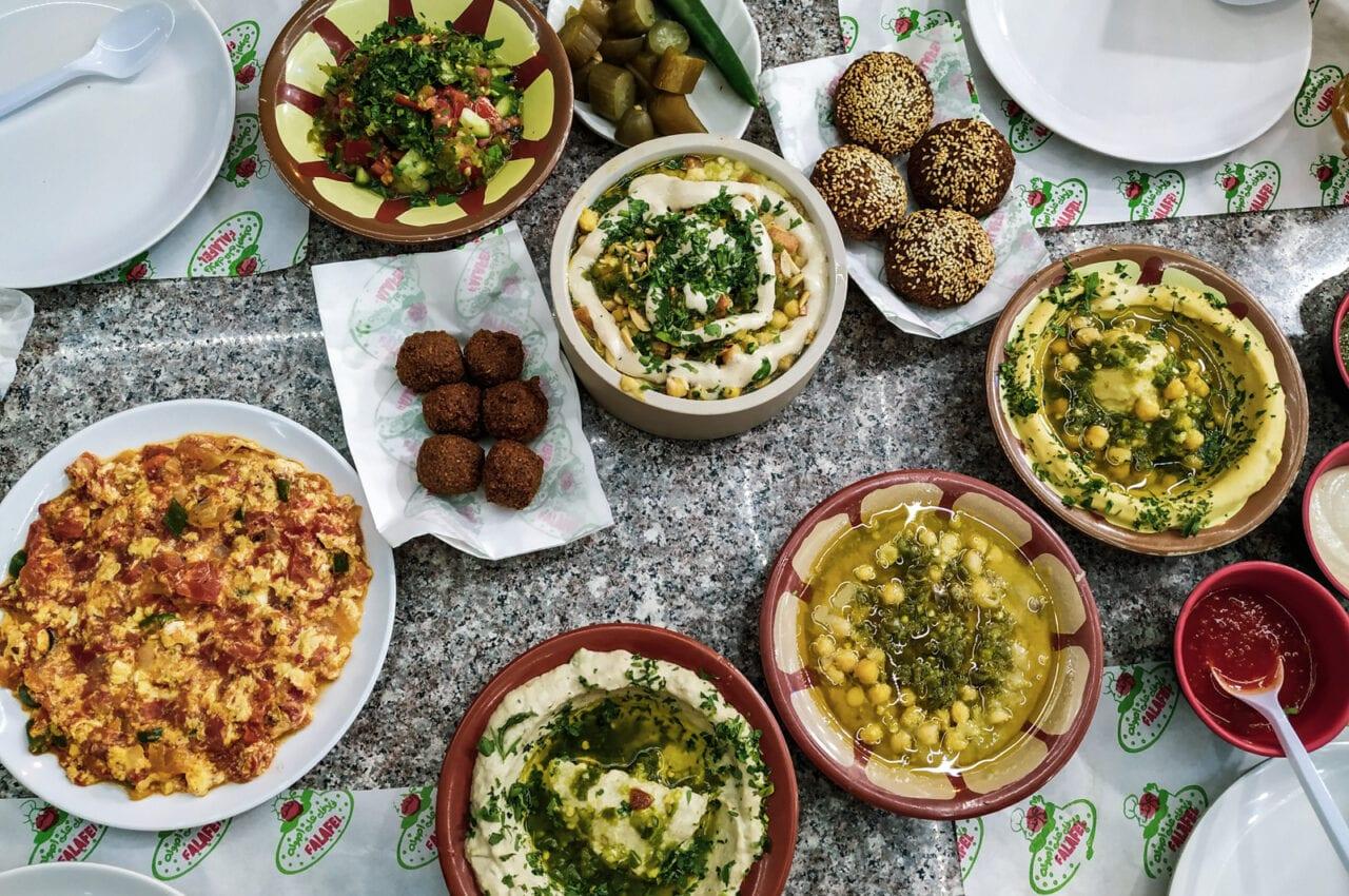 kuchnia-jordanska-mezze