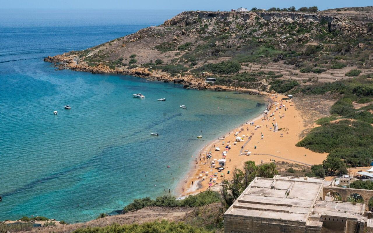 podróż-na-Gozo-Ramla-Beach