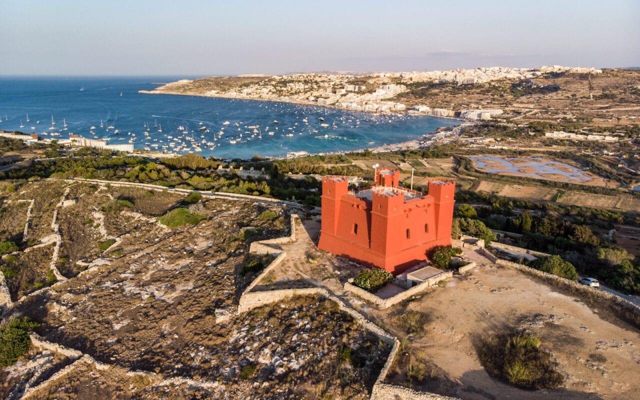 malta-atrakcje-red-tower