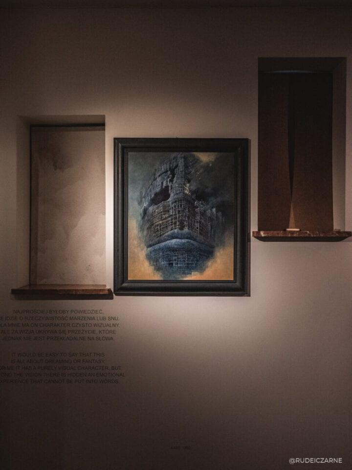 sanok-beksinski-obrazy